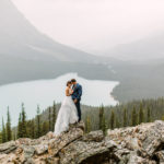 Elopement Wedding at Peyto Lake Banff