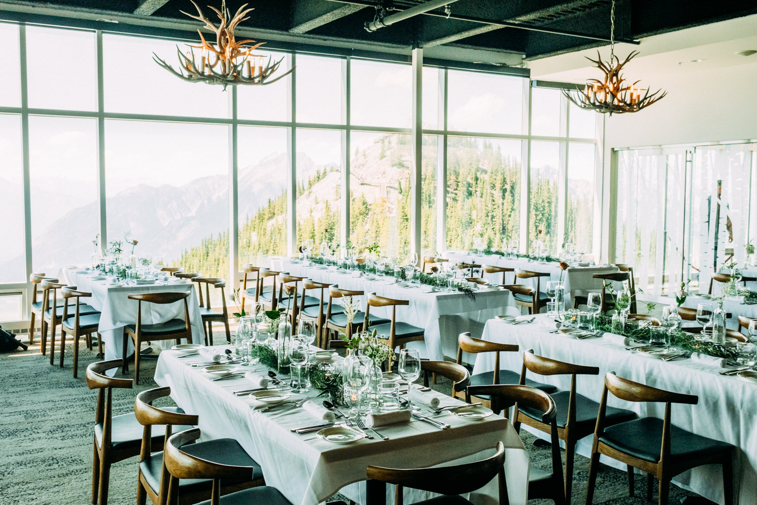 Sky Bistro Restaurant Wedding