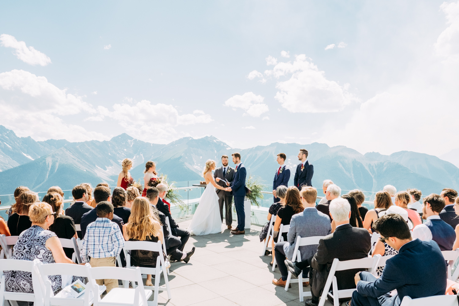 Sky Bistro Wedding Sulphur Mountain