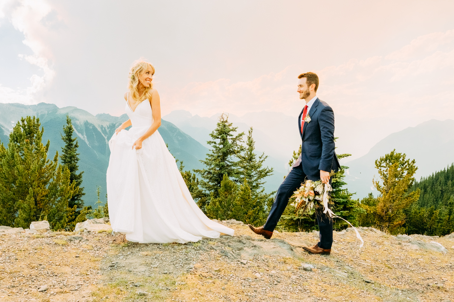 Sulphur Mountain Wedding