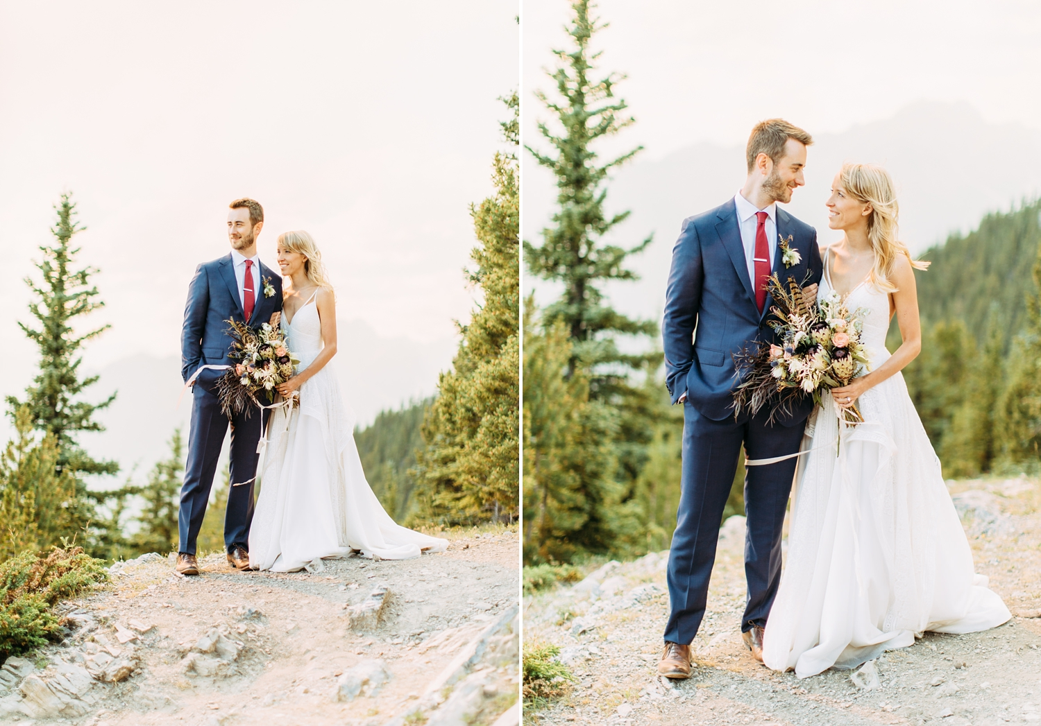 Wedding on Sulphur Mountain