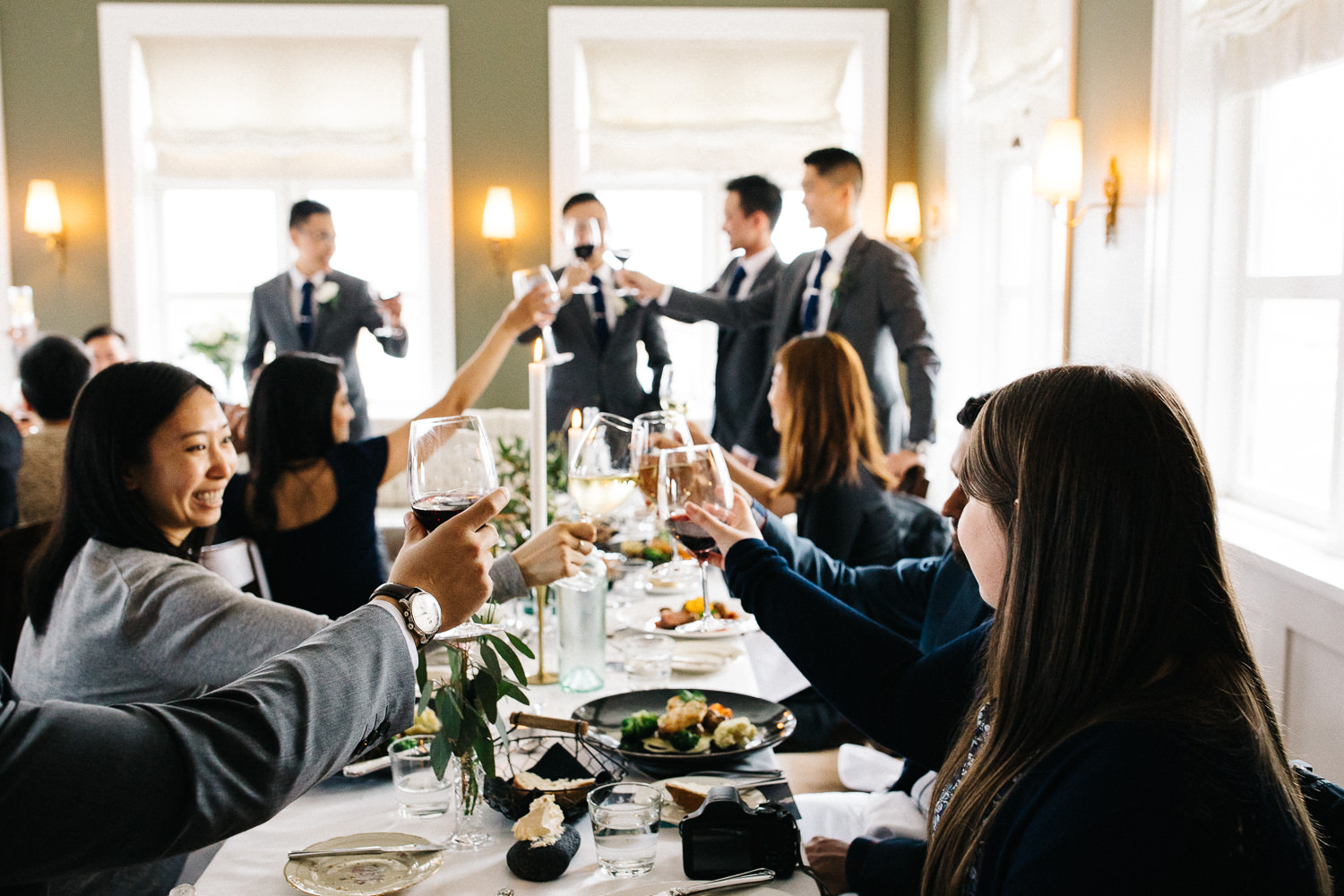 Hotel Budir Iceland Wedding Reception