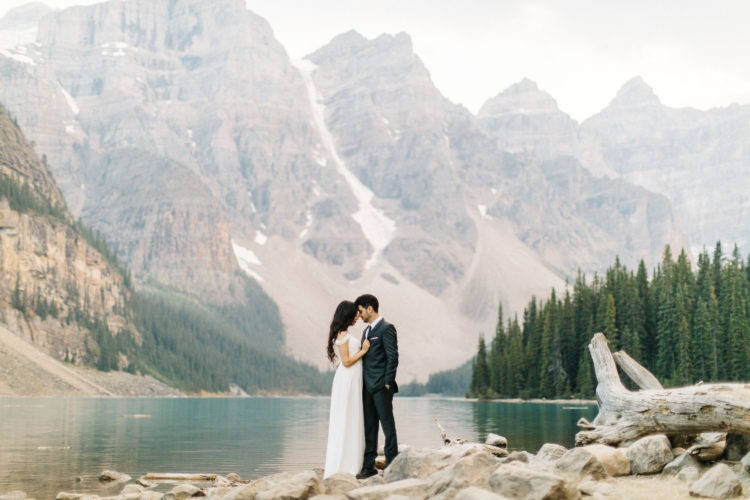 Moraine Lake Wedding Photographer