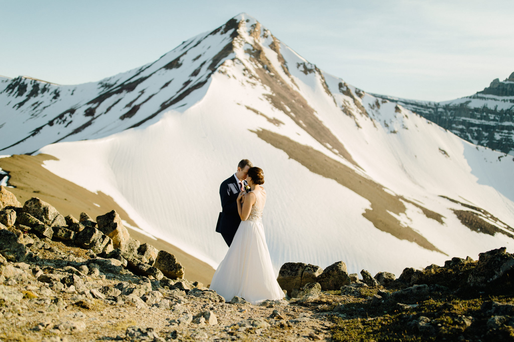 Helicopter Weddings in Banff
