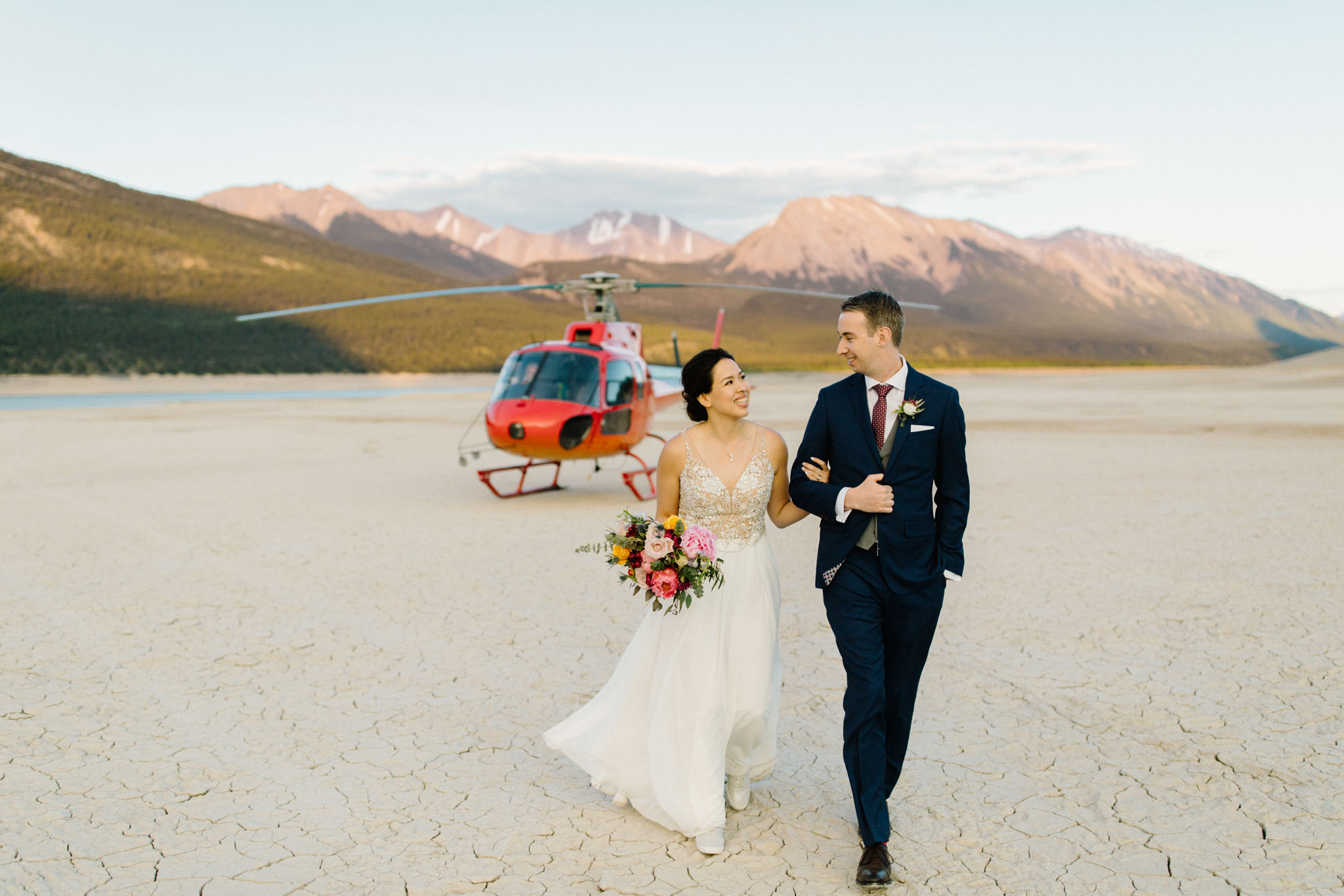 Dry Lake Bed Wedding